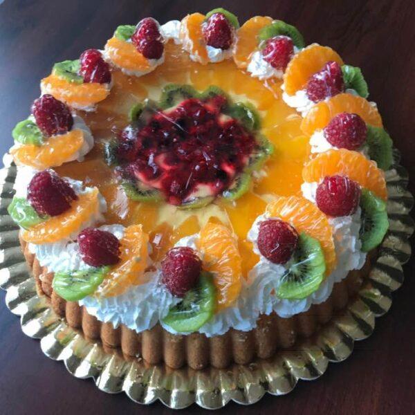 Tort tartă cu fructe