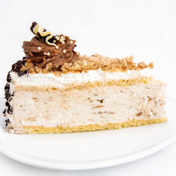 Felie tort castane